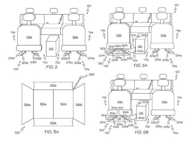 丰田新专利结构
